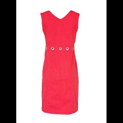 Koralowa sukienka na zamek FUEGO