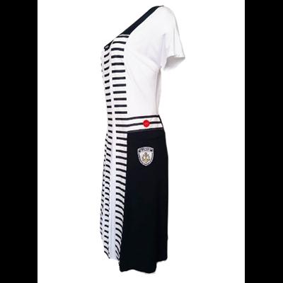 Marynistyczna sukienka POLA MONDI