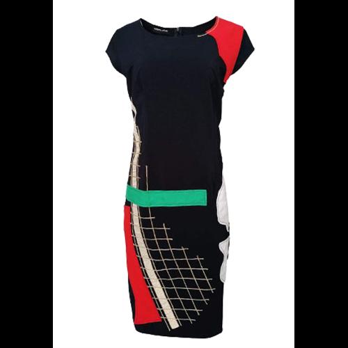 Granatowa sukienka POLA MONDI