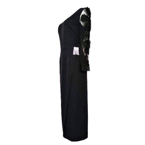Wieczorowa czarna sukienka POLA MONDI BY MERLA