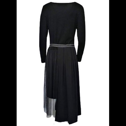 Czarna sukienka POLA MONDI BY MERLA