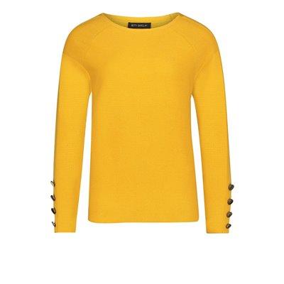 Żółty Sweter Betty Barclay
