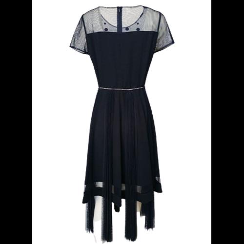 Granatowa sukienka POLA MONDI BY MERLA